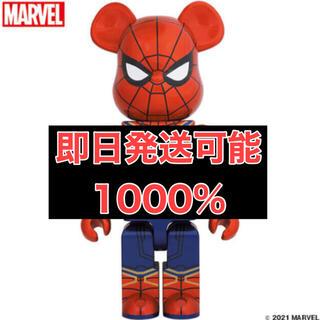 メディコムトイ(MEDICOM TOY)のMEDICOM TOY BE@RBRICK IRON SPIDER 1000%(アメコミ)