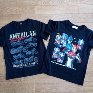 バンダイ(BANDAI)のウルトラマン バイク Tシャツ 2枚セット120cm (Tシャツ/カットソー)