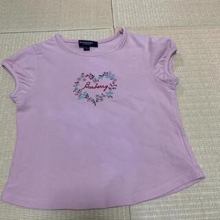 バーバリー(BURBERRY)のバーバリー 100 110 Tシャツ(Tシャツ/カットソー)