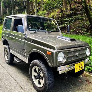 スズキ - JA11 7年 ジムニー カスタム  4WD リフトアップ JA11V改 全塗装