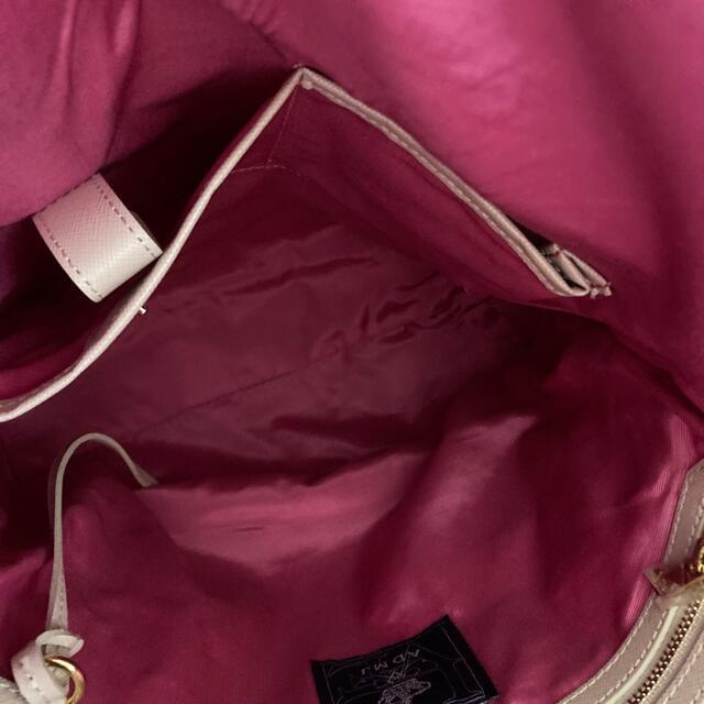 A.D.M.J.(エーディーエムジェイ)のADMJリュック中古品   レディースのバッグ(リュック/バックパック)の商品写真