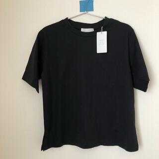 センスオブプレイスバイアーバンリサーチ(SENSE OF PLACE by URBAN RESEARCH)の【未使用品】クルーネックTシャツ(5分袖)(Tシャツ(半袖/袖なし))
