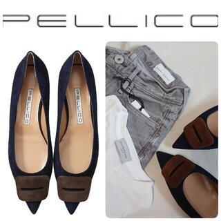 PELLICO - 定価59400円 新品 ペリーコ FIBBIA パンプス 36.5