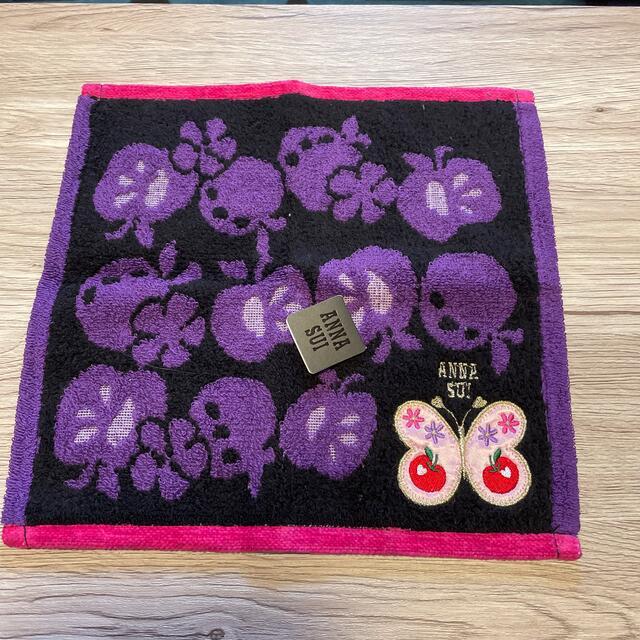 ANNA SUI(アナスイ)のアナスイタオルハンカチ レディースのファッション小物(ハンカチ)の商品写真