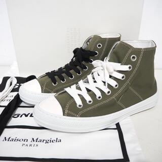 マルタンマルジェラ(Maison Martin Margiela)の新品 定価57240円 メゾンマルジェラ ステレオタイプ ハイカットスニーカー(スニーカー)