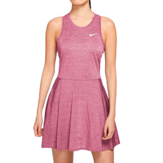 NIKE(ナイキ)の☆新品☆ナイキテニスウェア レディース ドレス スコート スカート US-XS スポーツ/アウトドアのテニス(ウェア)の商品写真