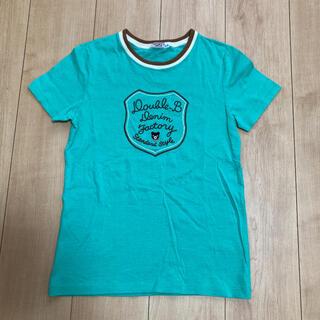 DOUBLE.B - DOUBLE.B  エメラルドグリーンTシャツ(150cm)