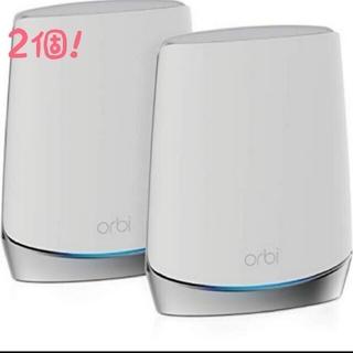 新品・未開封 NETGEAR メッシュWiFi 無線LANルーター 2台セット(PC周辺機器)