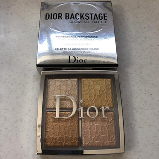Dior - ディオール バックステージフェイスグロウ パレット003ピュアゴールド 美品