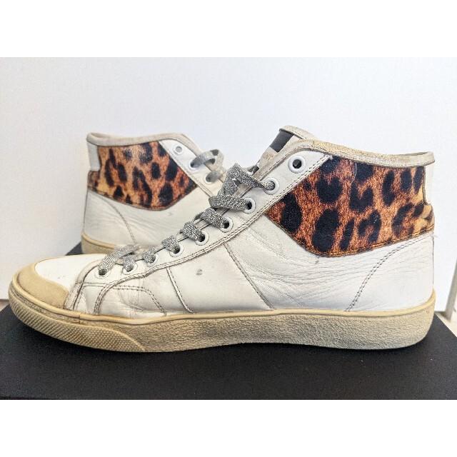 Saint Laurent(サンローラン)のサンローラン ハイカットスニーカー 27cm メンズの靴/シューズ(スニーカー)の商品写真