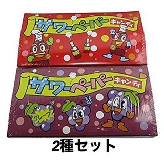 やおきん サワーペーパーキャンディ コーラ(36袋入) + グレープ(36袋入)(菓子/デザート)