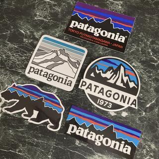 パタゴニア(patagonia)のパタゴニア ステッカー(登山用品)
