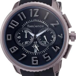テンデンス(Tendence)のTENDENCE TY146004 UNISEX アルテックガリバー ブラック(腕時計(アナログ))