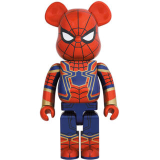 メディコムトイ(MEDICOM TOY)のBE@RBRICK IRON SPIDER 1000% スパイダーマン(キャラクターグッズ)