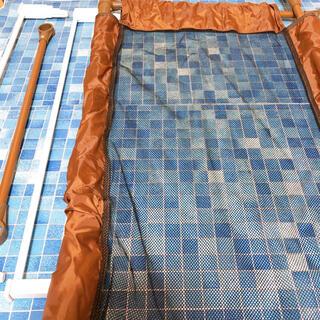 ニシマツヤ(西松屋)のキッズセーフ 未使用 ぼう防水シート付き(ベビーフェンス/ゲート)