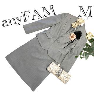 エニィファム(anyFAM)のanyFAM レディース フォーマル ワンピーススーツ セットアップ⭐︎匿名配送(スーツ)