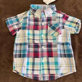 ニシマツヤ(西松屋)の新品 半袖ブラウス 90(Tシャツ/カットソー)