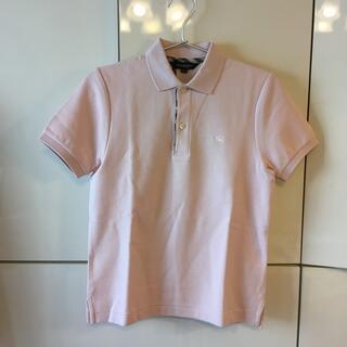 バーバリー(BURBERRY)の新品 タグ付き バーバリー 女の子 半袖ポロシャツ(Tシャツ/カットソー)