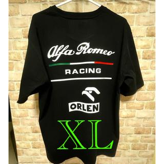 アルファロメオ(Alfa Romeo)のアルファロメオ 海外発売レースTシャツ ブラックXL(Tシャツ/カットソー(半袖/袖なし))