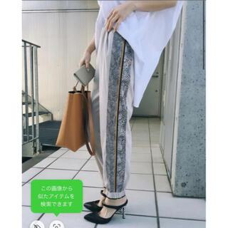 Ameri VINTAGE - 完売品✨‼️履きやすい⭐️❤️AMERI❤️PYTHON LINE PANTS