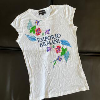 エンポリオアルマーニ(Emporio Armani)の新品 エンポリオアルマーニ Tシャツ 40(Tシャツ(半袖/袖なし))