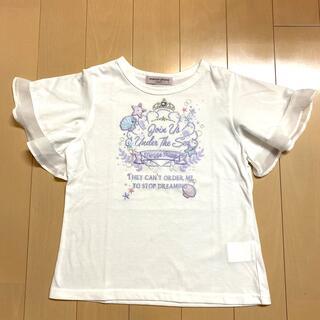 メゾピアノジュニア(mezzo piano junior)のメゾピアノ Jr 140【極美品】♡シェル♡(Tシャツ/カットソー)