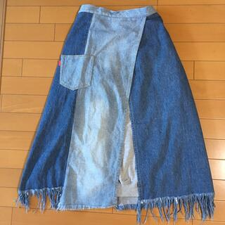 RODEO CROWNS - ロデオクラウンズ 変形ロング巻きスカート