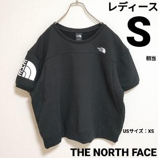 THE NORTH FACE - ノースフェイス カットソー  Tシャツ XS ブラック レディース黒