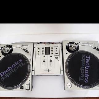 パナソニック(Panasonic)のTechnics テクニクス DJ ターンテーブル ミキサー セット(ターンテーブル)