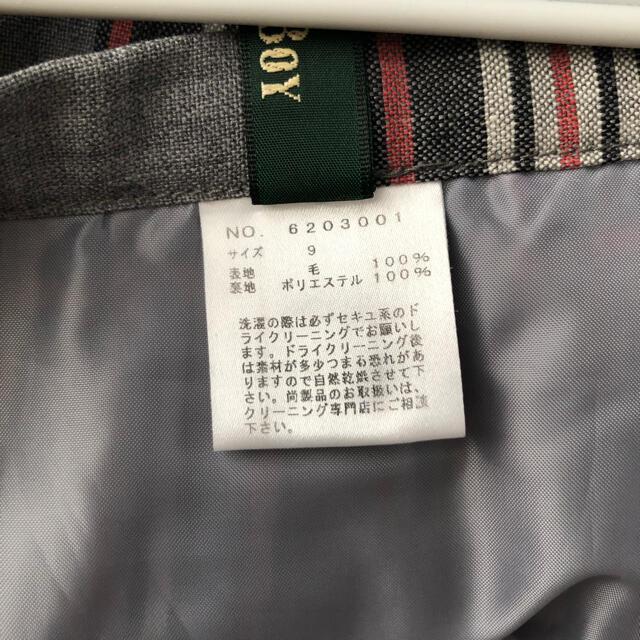 EASTBOY(イーストボーイ)のEASTBOY チェックプリーツスカート レディースのスカート(ひざ丈スカート)の商品写真