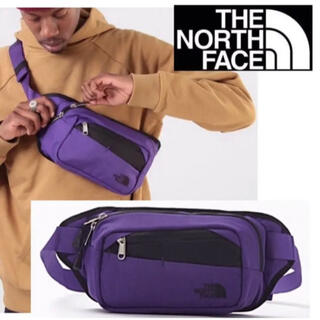 THE NORTH FACE - THE NORTH FACE ノースフェイス ウエストバッグ  パープル 男/女