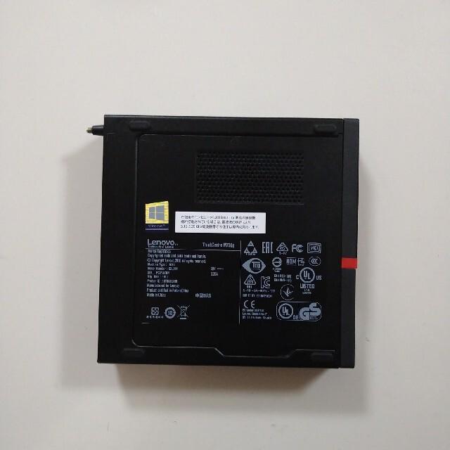 Lenovo(レノボ)の(ジャンク品)ThinkCentre M720q Tiny スマホ/家電/カメラのPC/タブレット(デスクトップ型PC)の商品写真