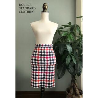 ダブルスタンダードクロージング(DOUBLE STANDARD CLOTHING)のダブルスタンダード  チェックスカート (ひざ丈スカート)