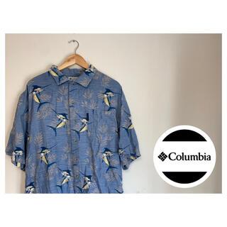 Columbia - Columbia コロンビアアロハシャツ 魚柄 90s