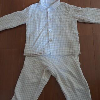 ムジルシリョウヒン(MUJI (無印良品))の無印良品◆ガーゼパジャマ 90(パジャマ)