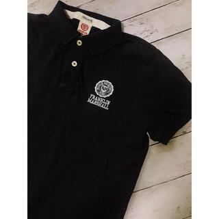 フランクリンアンドマーシャル(FRANKLIN&MARSHALL)のFRANKLIN & MARSHALL ポロシャツ ネイビー Tシャツ メンズ(ポロシャツ)