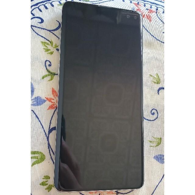 Galaxy(ギャラクシー)のgalaxy s10 plus au simフリー スマホ/家電/カメラのスマートフォン/携帯電話(スマートフォン本体)の商品写真