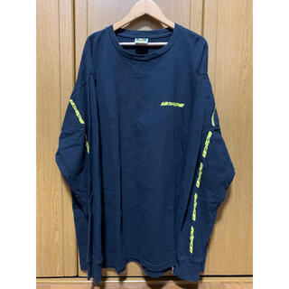 A BATHING APE - アベイシングエイプ ロンT 長袖Tシャツ バックロゴ サイドロゴ