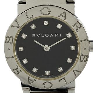 ブルガリ(BVLGARI)のブルガリ ブルガリブルガリ 12P ダイヤ BB26SS レディース 中古(腕時計)