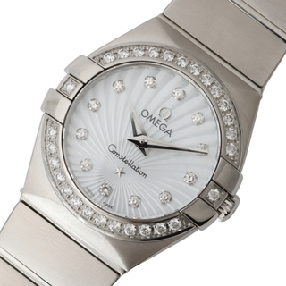 オメガ(OMEGA)のオメガ OMEGA コンステレーションポリッシ 腕時計 レディース【中古】(腕時計)