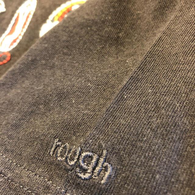 rough(ラフ)の季節到来 rough 刺繍Tシャツ お値下げ レディースのトップス(Tシャツ(長袖/七分))の商品写真