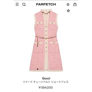 グッチ(Gucci)の60万Gucci ワンピース(ひざ丈ワンピース)