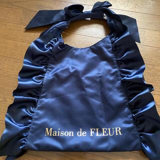 Maison de FLEUR - Maison de FLEUR フリルリボン トートバッグ