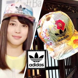 adidas - アディダス ファーム コラボ キャップ 帽子 花柄 広瀬アリス ディズニー