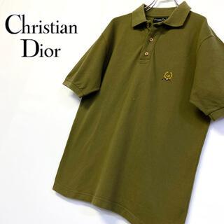クリスチャンディオール(Christian Dior)の美品 イタリー製 オールド Christian Dior ポロシャツ  (ポロシャツ)