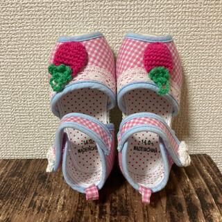 ニシマツヤ(西松屋)のサンダル 女の子 14(サンダル)
