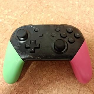 Nintendo Switch - Nintendo SWITCH PROコントローラー スプラトゥーン 純正品