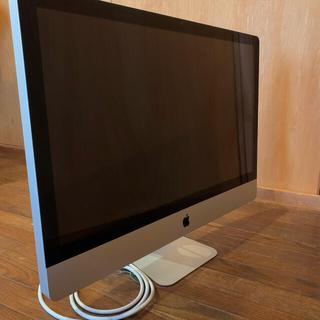 マック(Mac (Apple))の【ジャンク品】iMac 27inch Mid 2011 Corei5 本体 ①(デスクトップ型PC)