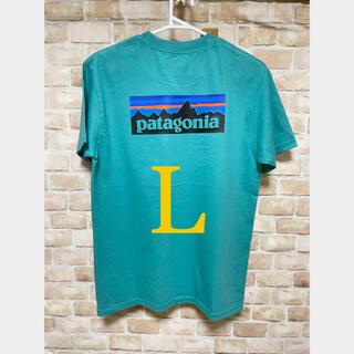 patagonia - Patagonia Tシャツ ライトグリーン L