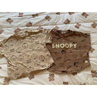 SNOOPY - スヌーピー チャーリーブラウン90サイズ
